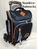 Школьный рюкзак на колесах в 1-й-3-й класс.Высота 44 см, длина 28 см, ширина 20 см., фото 1