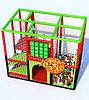 Детский игровой лабиринт Пицца