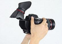 """Видео-искатель Kamerar Viewfinder QV-1 2.5x на дисплей фотоаппаратов размером 3'' 3.2"""" дюйма, фото 3"""