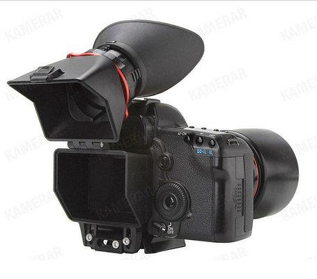 """Видео-искатель Kamerar Viewfinder QV-1 2.5x на дисплей фотоаппаратов размером 3'' 3.2"""" дюйма, фото 2"""