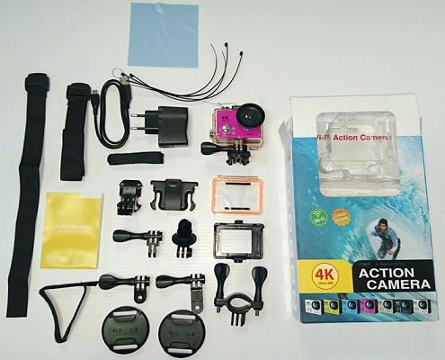 С помощью комплектных креплений Вы легко зафиксируете свою экшн-камеру на шлеме, руле или другом предмете