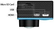 В разъем, отмеченный на фото как MicroSD Card, Вы можете установить флеш-карту объемом до 32 Гб