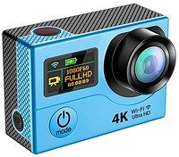 Экшн камера 4K+WiFi с дисплеем EKEN, фото 1