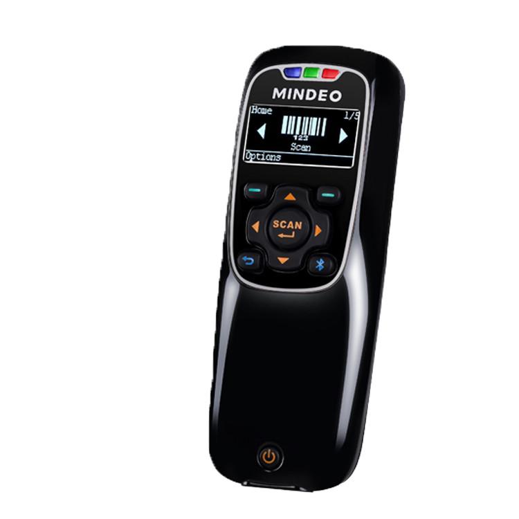 Беспроводной одномерный сканер штрих-кода MINDEO 3690 1D BT