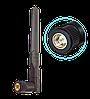 Антенна двухдиапазонная  для Wi-Fi  8dBi, 2.5 ГГц – 5.8 ГГц , SMA (male), черная