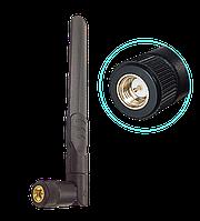 Антенна двухдиапазонная  для Wi-Fi  8dBi, 2.5 ГГц – 5.8 ГГц , SMA (male), черная, фото 1
