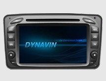 Штатное головное устройство Mercedes-Benz CLK W209 (2000-2004) «Dynavin»