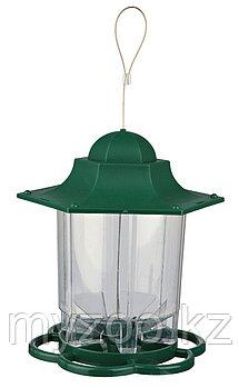 Уличная пластиковая кормушка для птиц,. 1.400 ml/22 cm