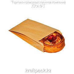 Пакет крафт с плоским дном 140*60*250 (2500шт/уп)