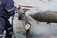 Внутренняя и наружная очистка труб большого диаметра