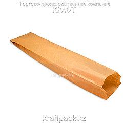 Пакет крафт для багета с плоским дном 110*50*610 (1000шт/уп)