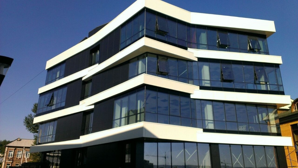 Фасады из стальных композитных панелей - фото 6