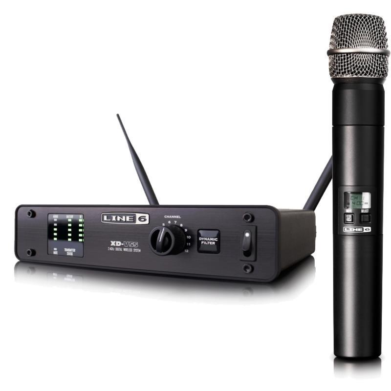 LINE6 XDV 55 вокальная истинно диверситивная радиосистема