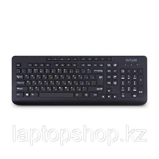 Клавиатура проводная Keyboard Delux DLK-02UB, USB
