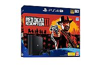 PlayStation 4 SLIM!! 500GB+  ИГРА Red Dead Redemption 2, фото 1