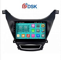 Автомагнитола DSK Hyundai Elantra 2014-2016 IPS ANDROID