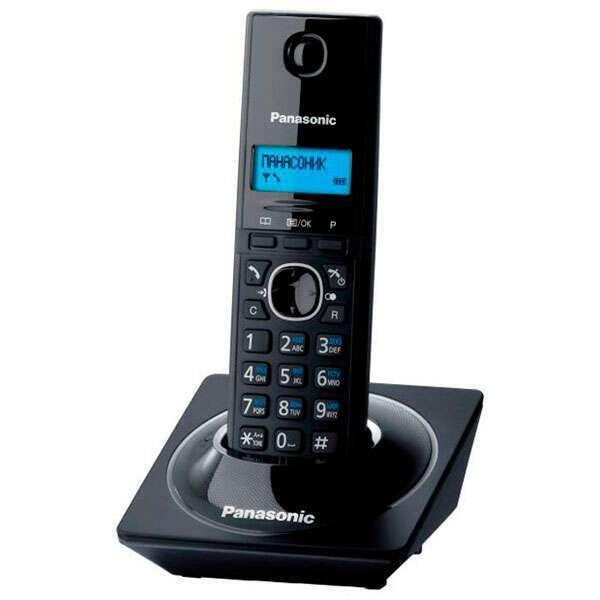 Panasonic KX-TG1711CAB  DECT радиотелефон черный
