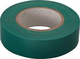 Изолента PVC 22mmx0,15mmх10m зеленая, фото 2