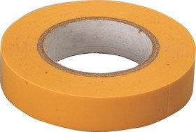 Изолента PVC 22mmx0,15mmх10m желтая, фото 2