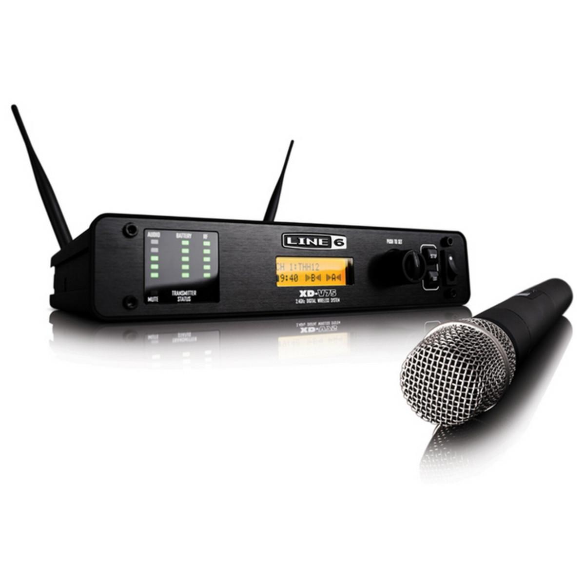 LINE6 XDV 75 вокальная истинно диверситивная радиосистема