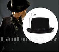 Фетровая шляпа цилиндр на вечеринку (высота - 10 см)