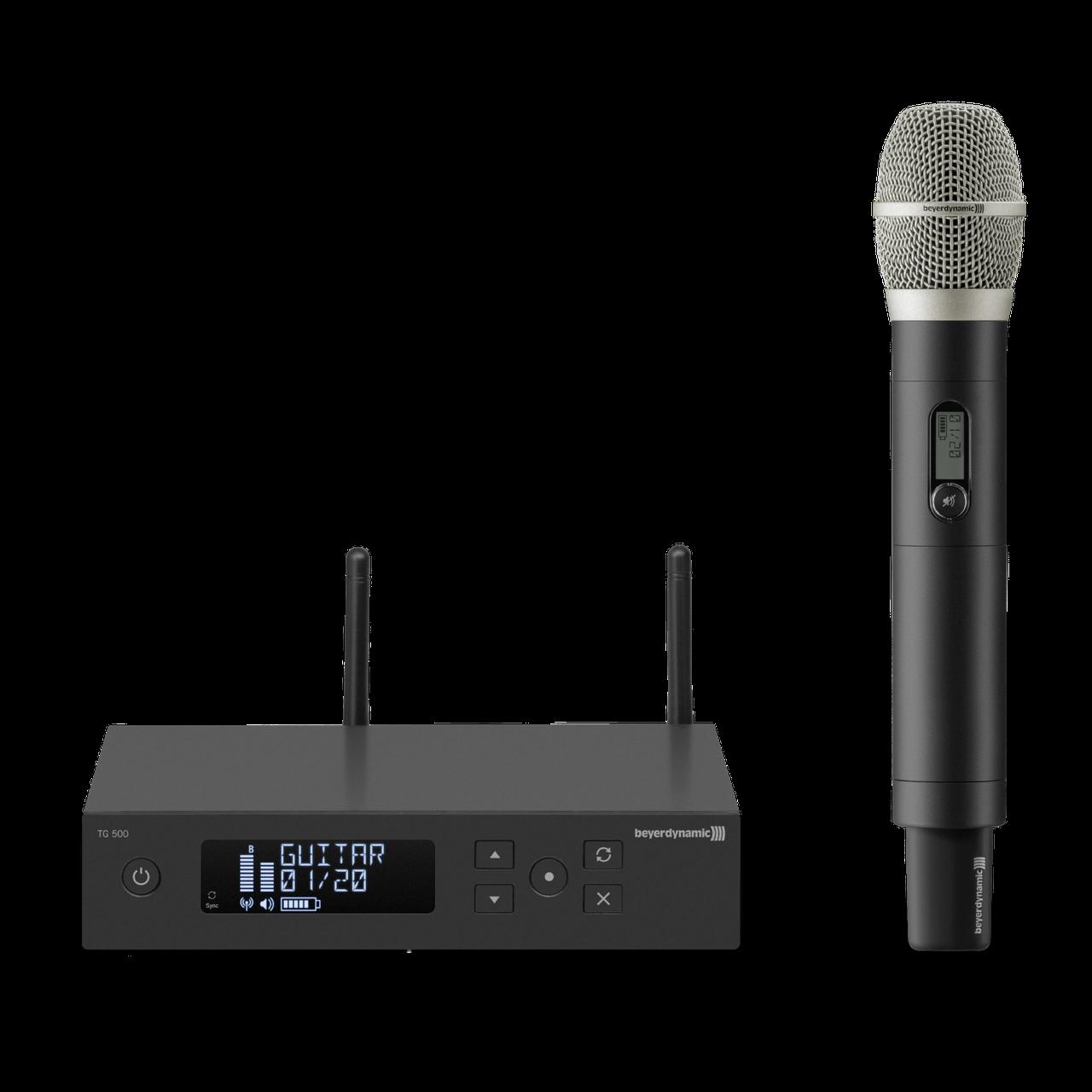 BEYERDYNAMIC TG 556 518-548 MHz вокальная истинно диверситивная радиосистема