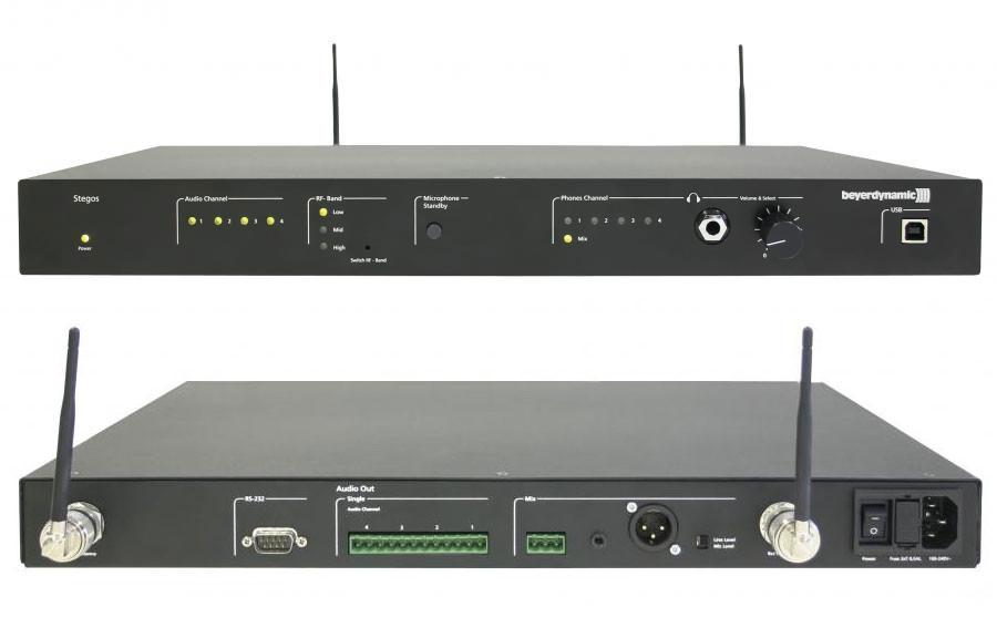 BEYERDYNAMIC Stegos RS цифровой 4-х канальный приемник