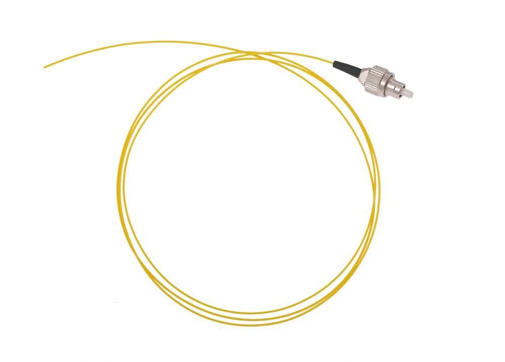 Оптический шнур (пигтейл) FC/UPC одномодовый 1,5 метра 0,9мм
