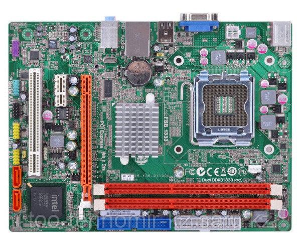 S-775 Elite Group G41T-M16,G31/1333MHz,2xDDR3,133,PCI-Ex16,intVGA,PCIx2,8ch,4SATA,Lan mATX