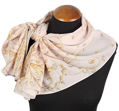 Шарфы женские шелковые, крепдешин, 43х150см