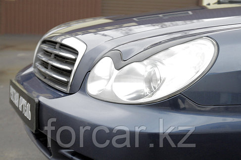 Накладки на передние фары (реснички) Hyundai Sonata 2002-2009, фото 2