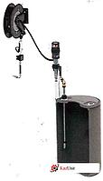 Комплект с насосом 5.5:1 для бочки 200 л и катушкой, настенный