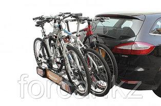 Багажник для перевозки 4-х велосипедов на фаркопе Peruzzo Siena откидной, фото 2