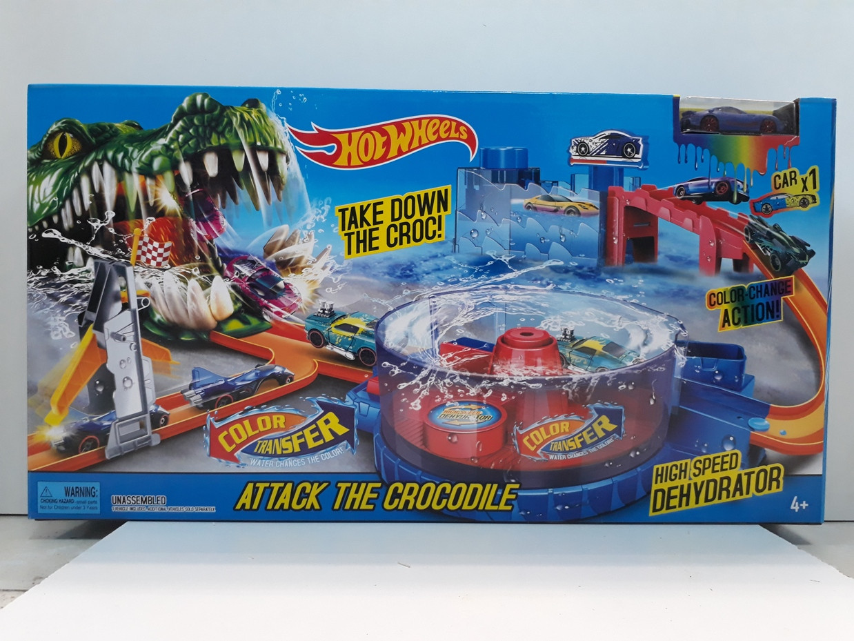 Трек Hot wheels - Attack The Crocodile. Атака Крокодила. Аллигатора. Хот вилс. Трасса
