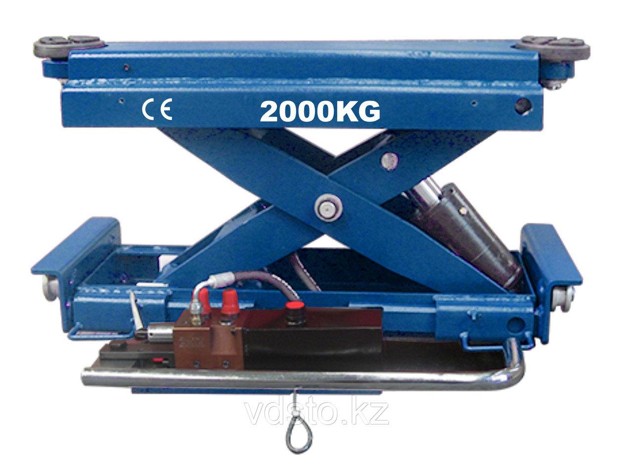 Гидравлическая траверса SILLAN PL-X20TS с ручным приводом, г/п 2 т
