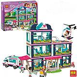 Конструктор Bela Аналог LEGO Friends 41318 LELE 37036 Клиника Хартлейк-Сити 37036 (932 дет), фото 6