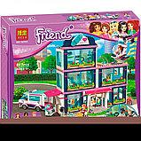 Конструктор Bela Аналог LEGO Friends 41318 LELE 37036 Клиника Хартлейк-Сити 37036 (932 дет), фото 7