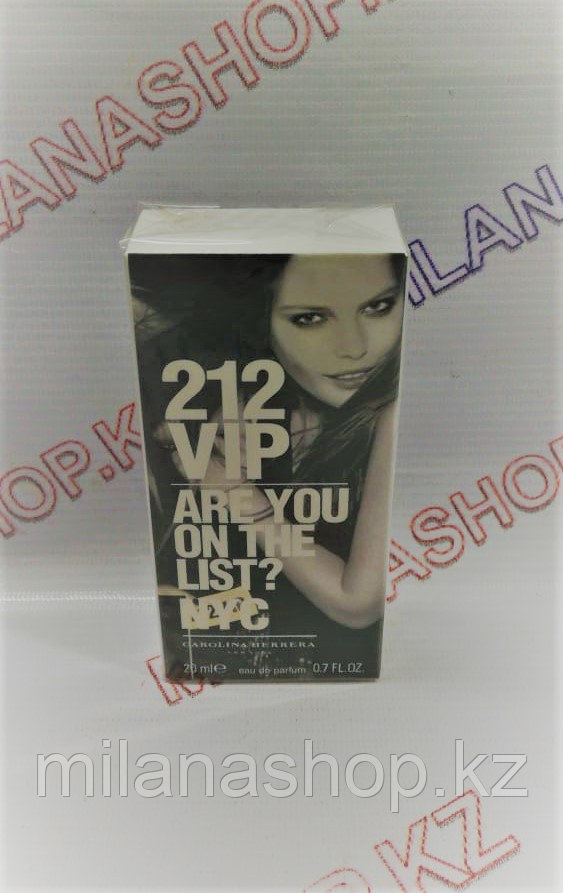 212 Vip Are You On The List ? Nyc Мини ( 20 мг )