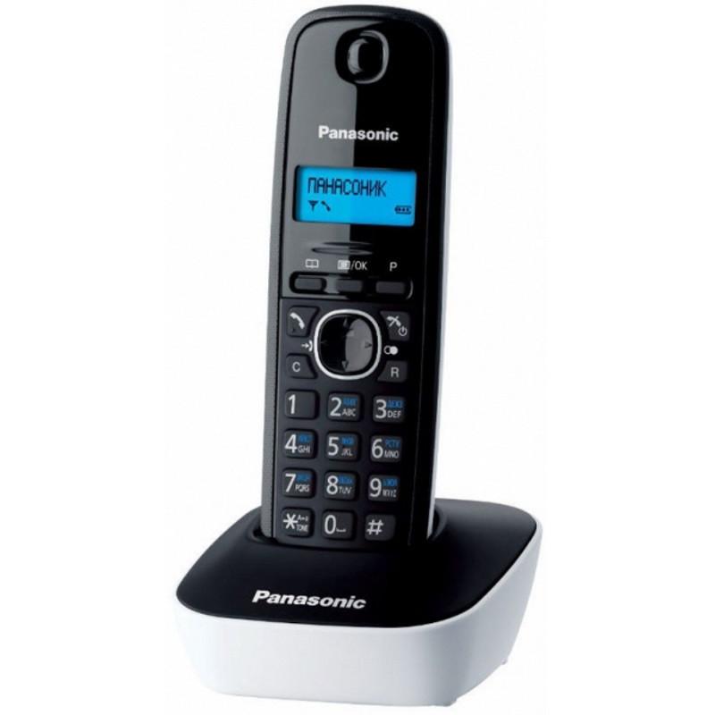 Panasonic KX-TG1611CAW DECT телефон