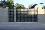 Уличные металлические ворота, фото 5