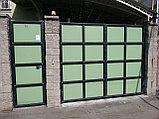 Уличные металлические ворота, фото 6