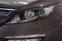 Накладки на передние фары  KIA Sportage 2014-