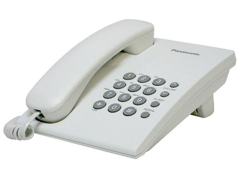 Panasonic KX-TS2350CAW Телефон проводной