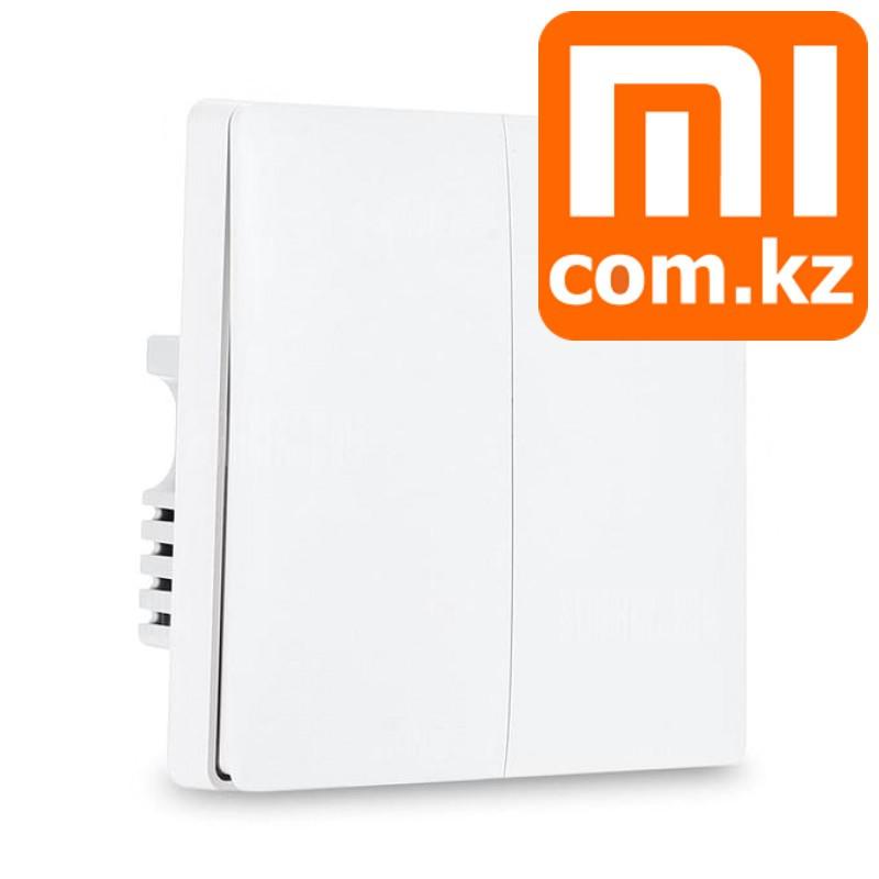 Встраиваемый переключатель (выключатель) Xiaomi Mi Aqara Smart Light control dual, двойной