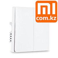 Встраиваемый переключатель (выключатель) Xiaomi Mi Aqara Smart Light control dual, двойной Арт.5590