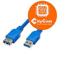 USB удлинитель AM-AF, C-Net, 0.3m. мама папа. Арт.3796