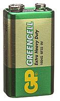 Батарейка GP 1604G Greencell 6F22 Крона 9v
