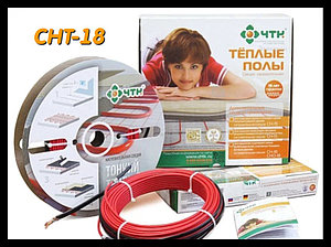 Двужильный тонкий нагревательный кабель СНТ-18 - 8,2м