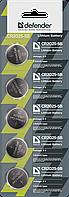 Элемент питания Defender CR2032 - 1 штука в блистере (1/5)
