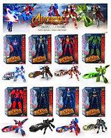 9002 Мстители трансформеры в робот-машина разные 17*14см
